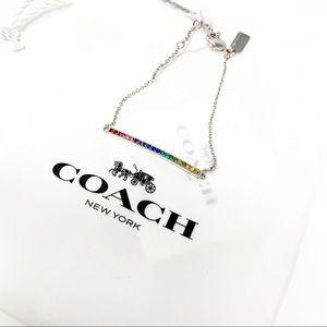 Coach Jewelry - Coach Rainbow Bar Bracelet